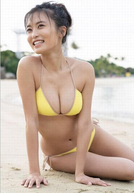 【水着美女】小島瑠璃子の大興奮 水着姿