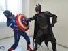 [動画あり]リアルヒーロー誕生 バットマンとキャプテン・アメリカが火事の家から猫を救出!!