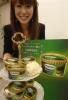 セブン-イレブン・ジャパンとハーゲンダッツジャパンが共同開発した「ジャポネ〈抹茶アズキ〉」