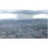 ゲリラ豪雨のすさまじい画像