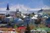 【世界の首都】アイスランド首都レイキャヴィークの風景。カラフルな建物が目立つwww